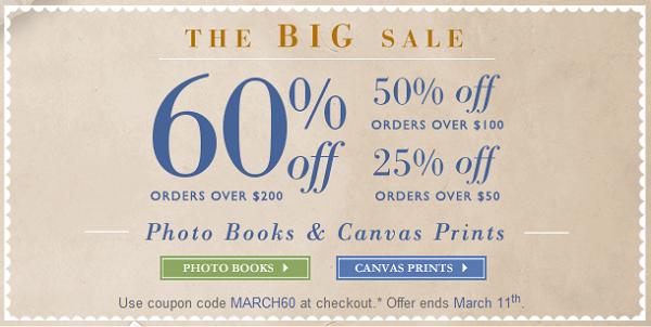 canvas print sale