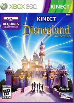 disneyland kinect game