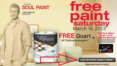 free paint ace