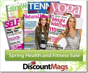 health and fitness magazine sale