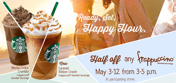 frappucino happy hour