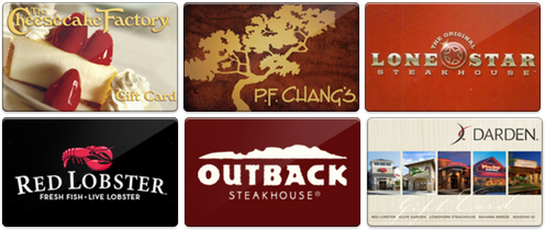 discounted restaurant gift cards
