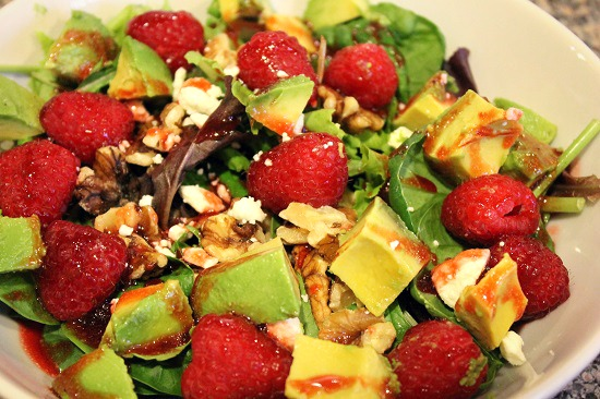Delicious Heart Healthy salad #FreshFinds #shop