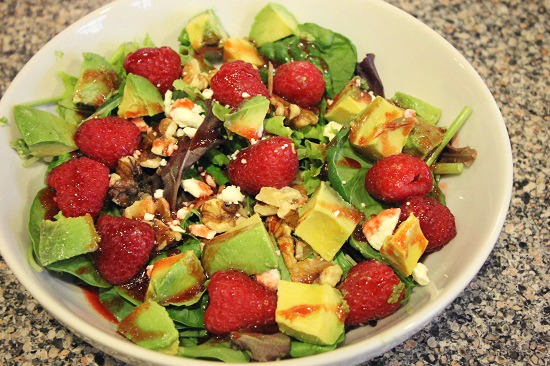 Lucky Heart Healthy Salad #FreshFinds #shop