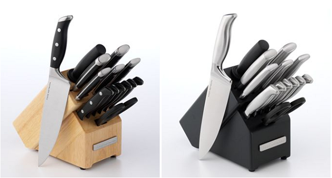 kitchen knife set deal