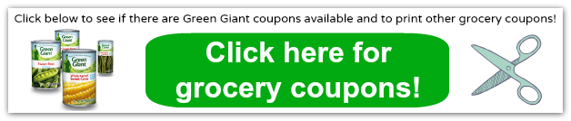 green giant coupons 2014