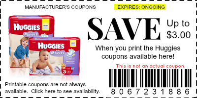 Manufacture Coupons