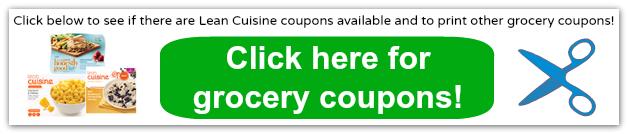 lean cuisine coupons 2014