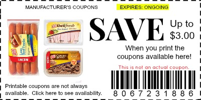 photograph about Oscar Meyer Printable Coupons referred to as Oscar Mayer Coupon codes - Model Discount codes