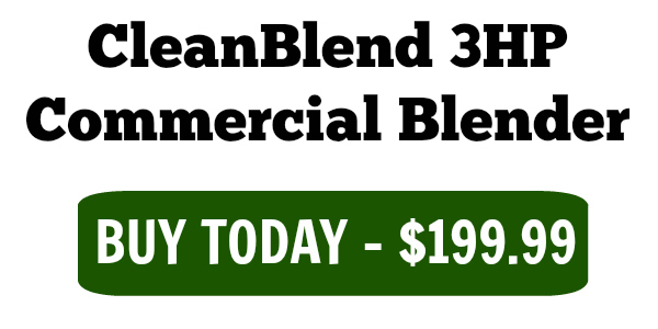 3hp cleanblend commercial blender
