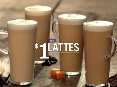 burger king latte