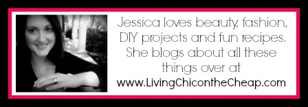 Click here to visit Living Chic on the Cheap!