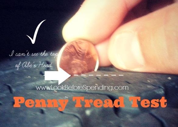 tire tread test