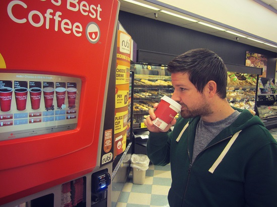 delicious coffee by seattle's best #rubi2go #shop