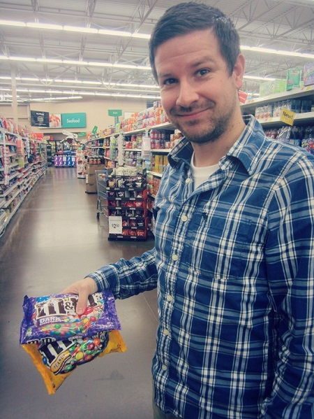 Buying m&ms #FueledByMM #shop #cbias