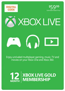 xbox live black friday deal