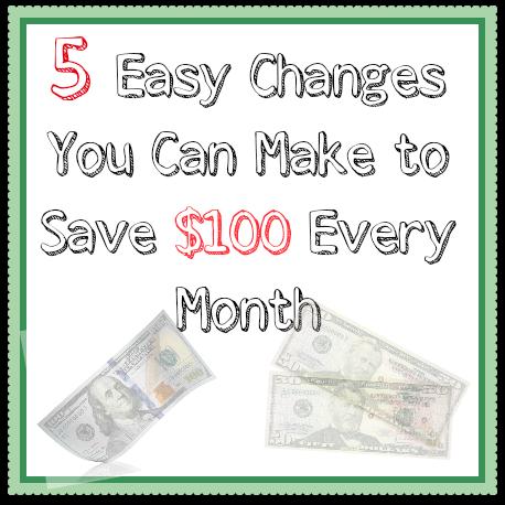 cut spending each month