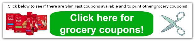 slim fast coupons 2014
