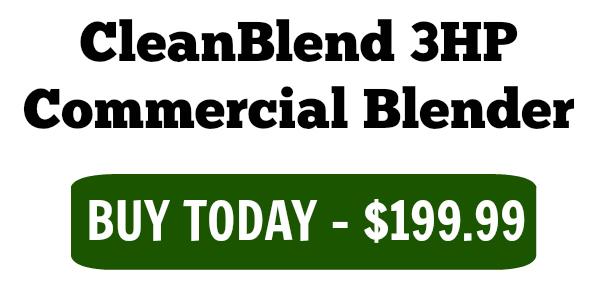 3hp cleanblend commercial blender