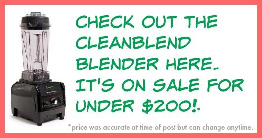cleanblend blender